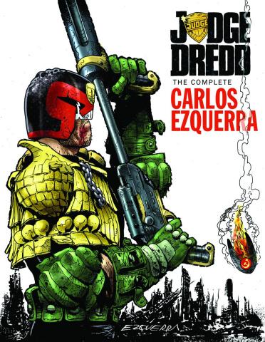 Judge Dredd: The Complete Carlos Ezquerra Vol. 2