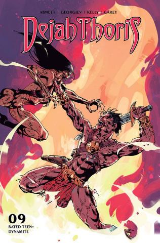 Dejah Thoris #9 (Castro Bonus Cover)