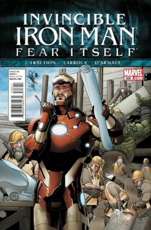 Invincible Iron Man #506