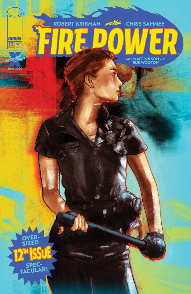 Fire Power #12 (Lotay Cover)