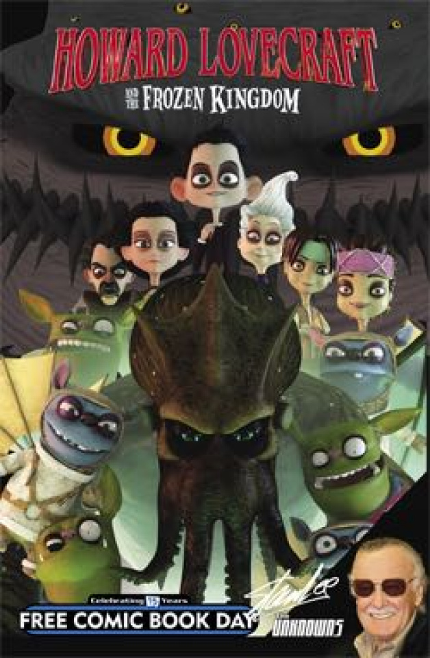 The Unknowns / Howard Lovecraft and The Frozen Kingdom (FCBD 2016 Edition)