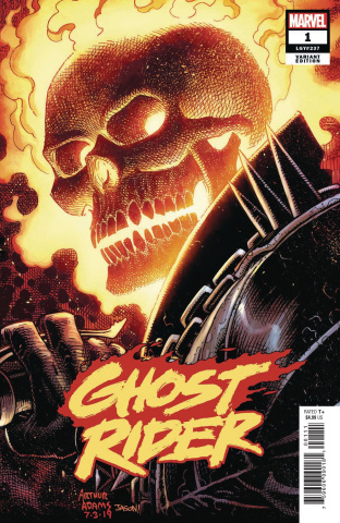 Ghost Rider #1 (Adams Cover)