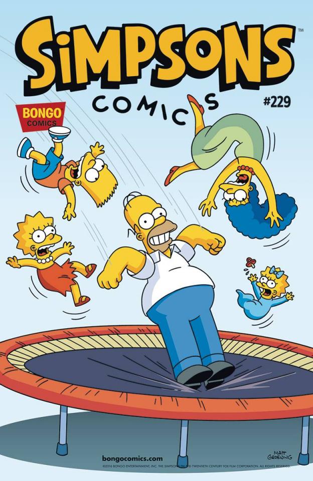 Simpsons Comics #229