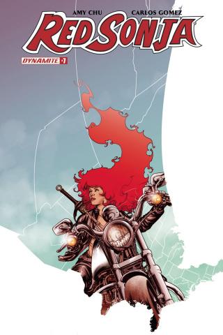 Red Sonja #7 (McKone Cover)