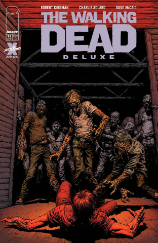 The Walking Dead Deluxe #11 (Finch & McCaig Cover)