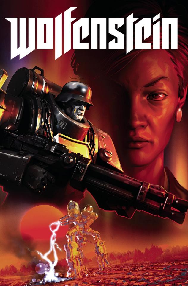 Wolfenstein #1 (Ronald Cover)
