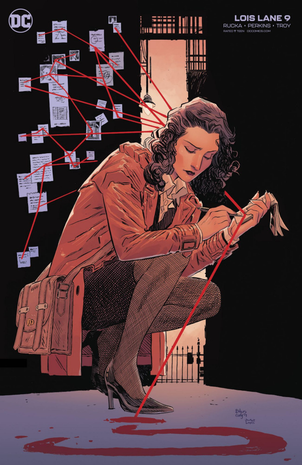 Lois Lane #9 (Bilquis Evely Cover)