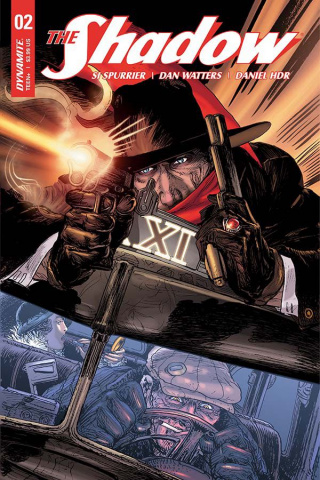 The Shadow #2 (Kaluta Cover)