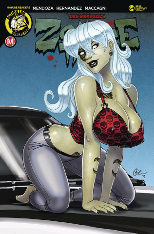 Zombie Tramp #64 (Harrigan Cover)