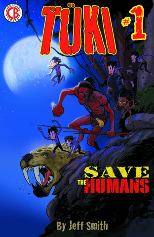 Tuki: Save the Humans #1