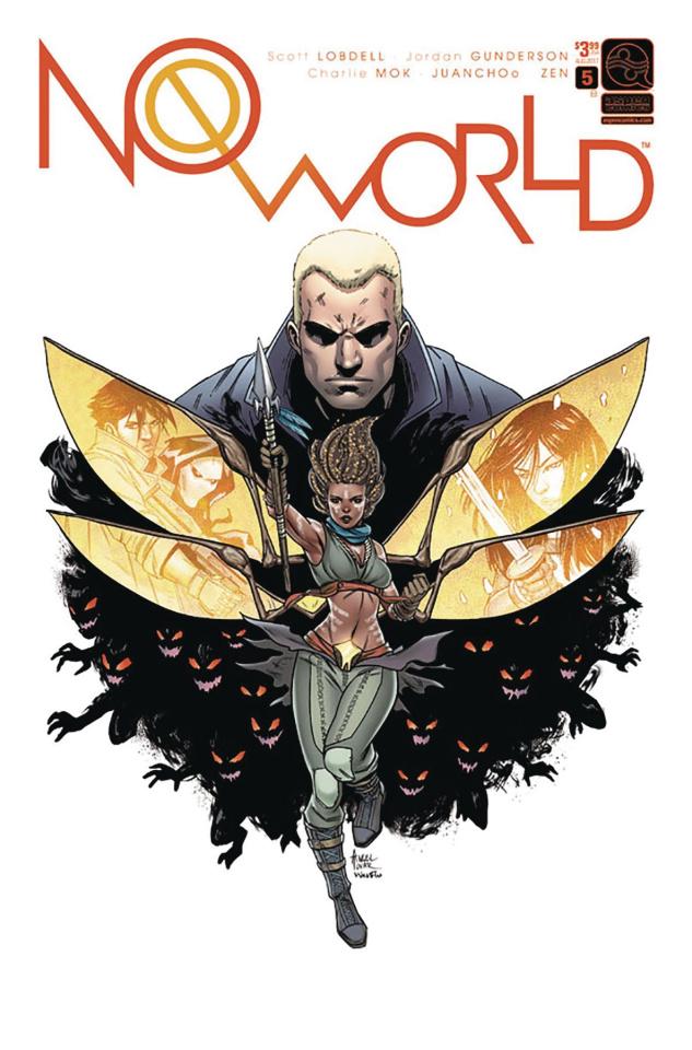 No World #5 (Tovar Cover)