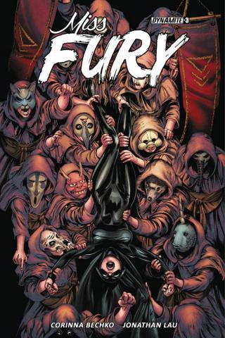 Miss Fury #3 (Lau Cover)