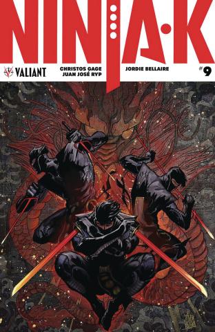 Ninja-K #9 (50 Copy Pollina Cover)