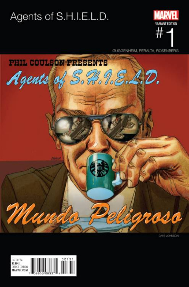Agents of S.H.I.E.L.D. #1 (Johnson Hip Hop Cover)