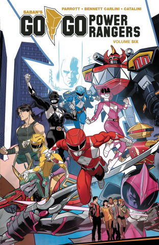 Go, Go, Power Rangers! Vol. 6