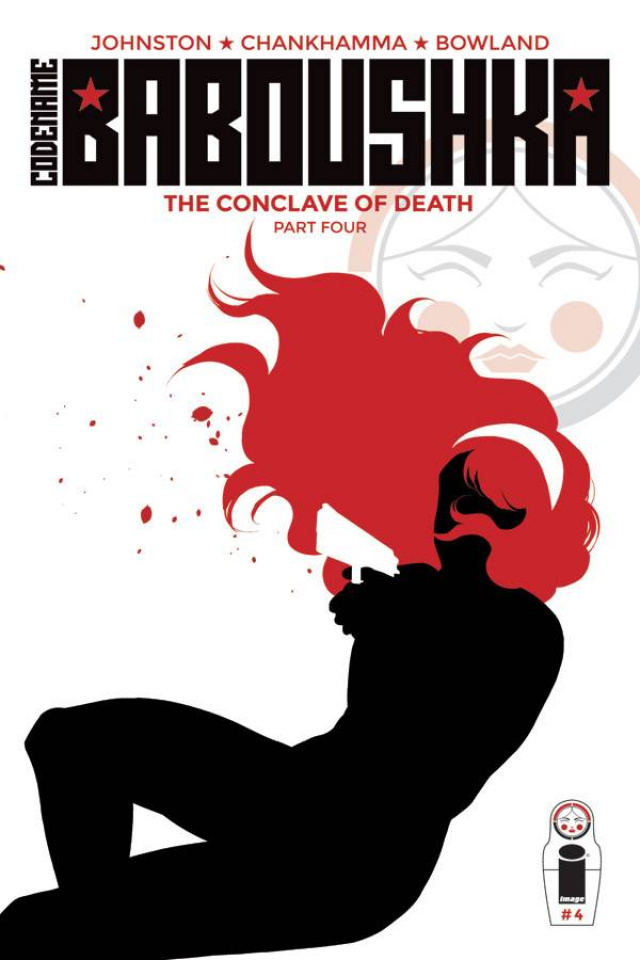 Codename Baboushka: The Conclave of Death #4 (Chankhamma Cover)