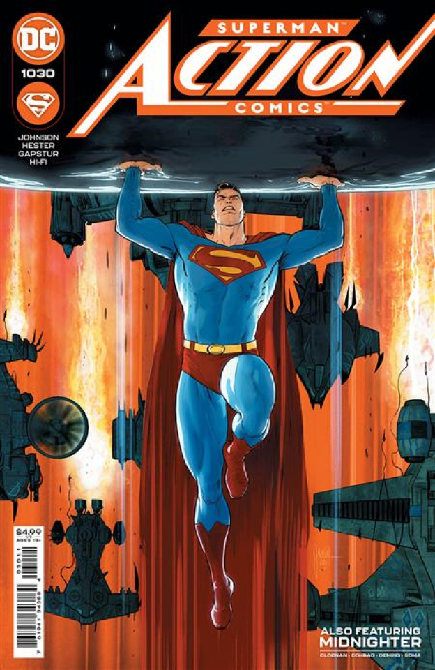 Action Comics #1030 (Mikel Janin Cover)