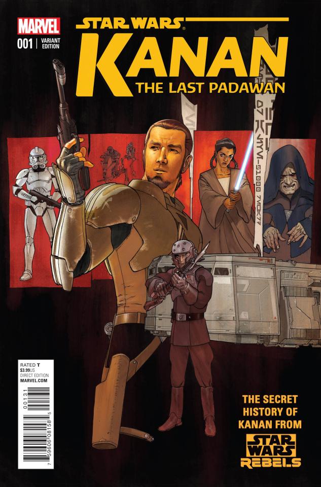 Kanan: The Last Padawan #1 (Plunkett Cover)