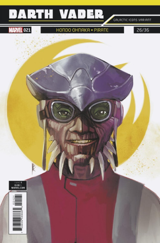 Star Wars: Darth Vader #21 (Reis Galactic Icon Cover)