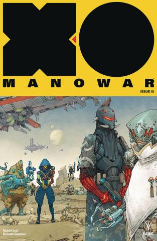 X-O Manowar #10 (Rocafort Cover)