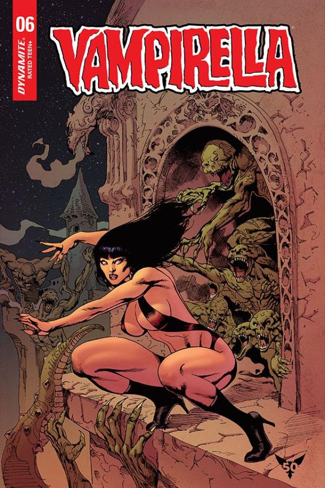 Vampirella #6 (Castro Dressed Bonus Cover)