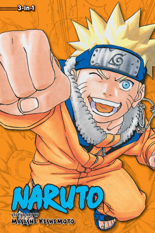 Naruto Vol. 7 (3-in-1 Edition)
