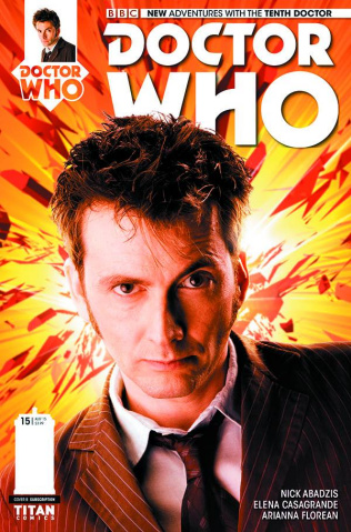 Doctor Who: New Adventures with the Tenth Doctor #15 (Subscription Cover)