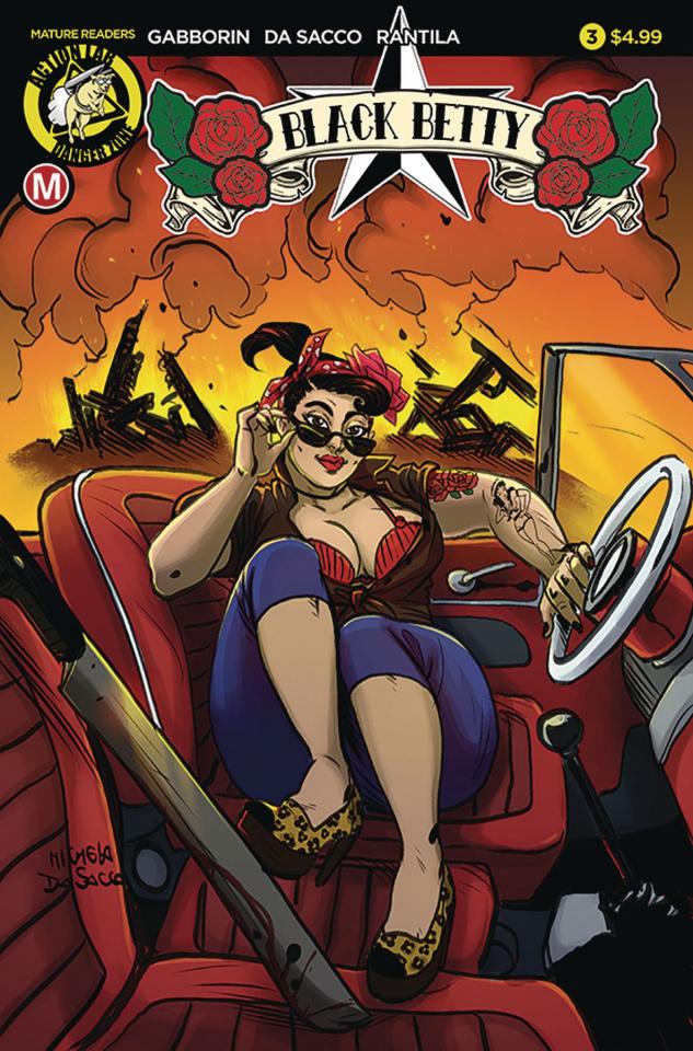 Black Betty #3 (Da Sacco Cover)
