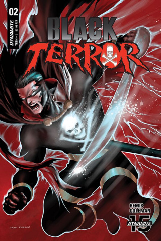 Black Terror #2 (Kirkham Cover)