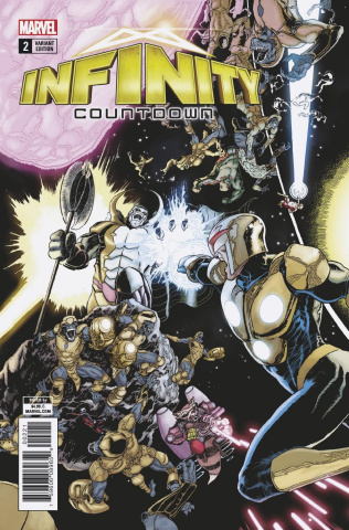 Infinity Countdown #2 (Kuder Connecting Cover)