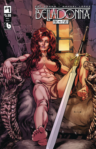 Belladonna: Fire and Fury #1 (Noble Sunset Cover)