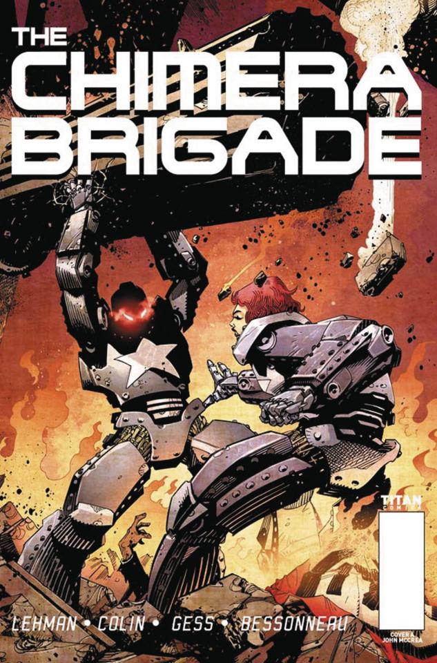 The Chimera Brigade #1 (McCrea Cover)