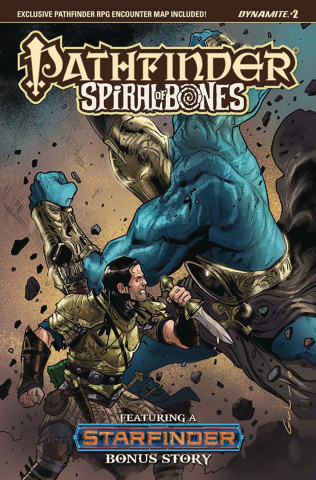 Pathfinder: Spiral of Bones #2 (Galindo Cover)