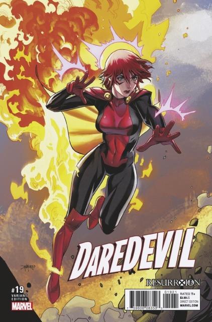 Daredevil #19 (Mora ResurrXion Cover)