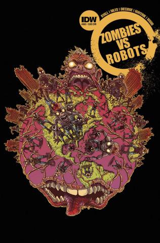 Zombies vs. Robots #3 (Subscription Cover)