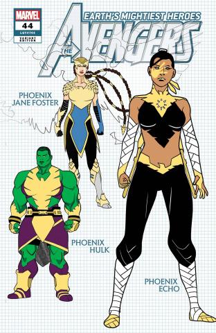 Avengers #44 (Garron Design Cover)