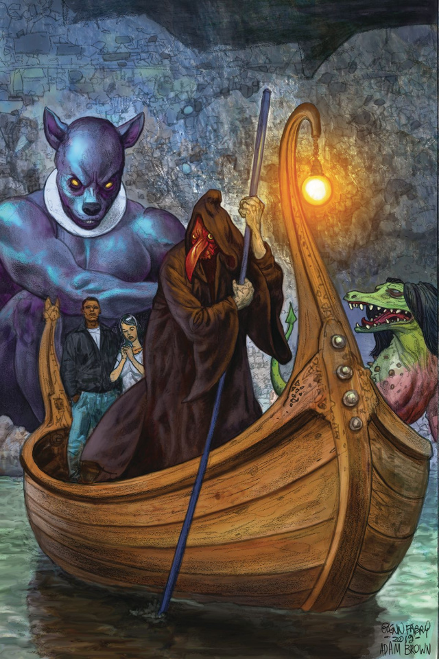 American Gods: The Moment of the Storm #4 (Fabry Cover)