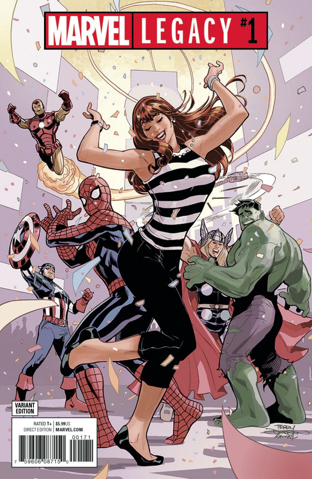 Marvel Legacy #1 (Party Cover)