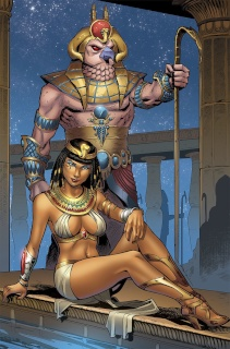Grimm Fairy Tales: Van Helsing vs. The Mummy of Amun Ra #5 (Melo Cover)