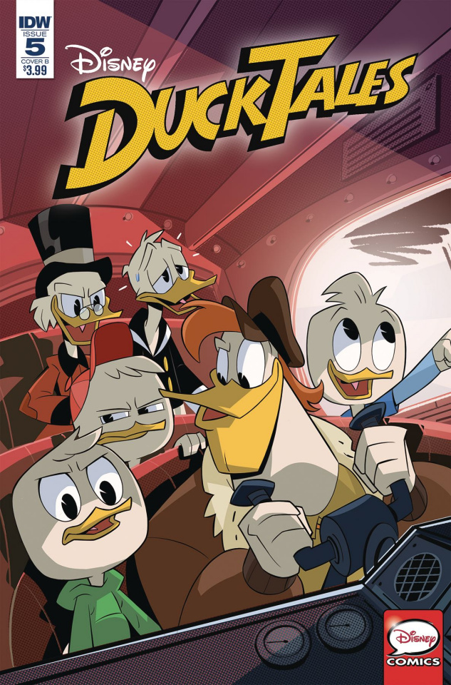 DuckTales #5 (Ghiglione Cover)