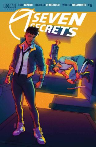 Seven Secrets #6 (Bartel Cover)