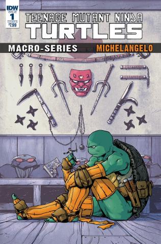 Teenage Mutant Ninja Turtles Macro-Series #2: Michelangelo (Dialynas Cover)