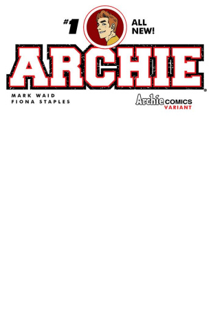 Archie #1 (Blank Sketch Cover)