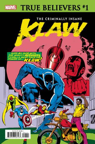 The Criminally Insane: Klaw #1 (True Believers)