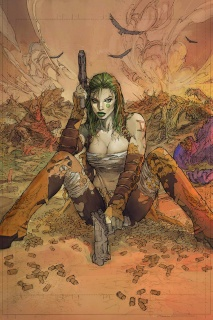 Cyber Force #5 (Silvestri Cover)