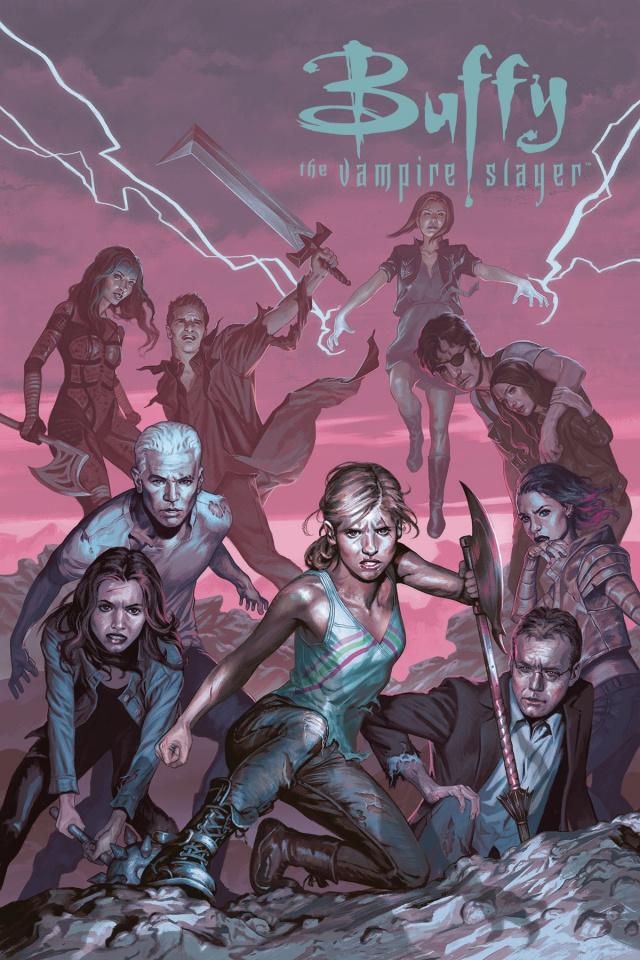Buffy the Vampire Slayer, Season 12: The Reckoning #4 (Ultra Variant Cover)
