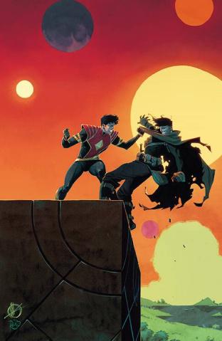 Power Rangers #9 (10 Copy Scalera Cover)