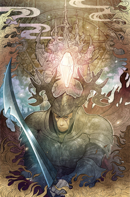 The Power of the Dark Crystal #8 (Subscription Tak Cover)