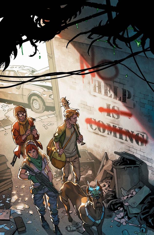 Scooby: Apocalypse #28 (Variant Cover)