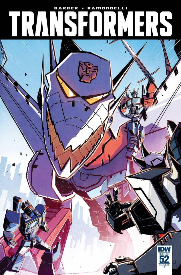 The Transformers #52 (10 Copy Cover)